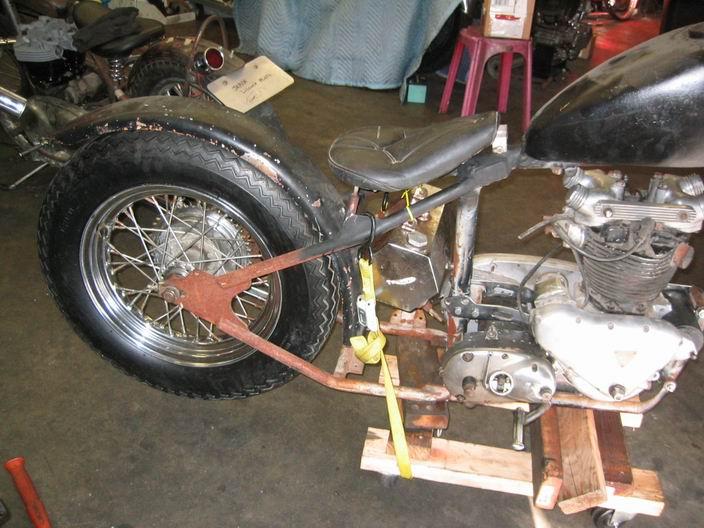 Triumph Pre-Unit Chopper