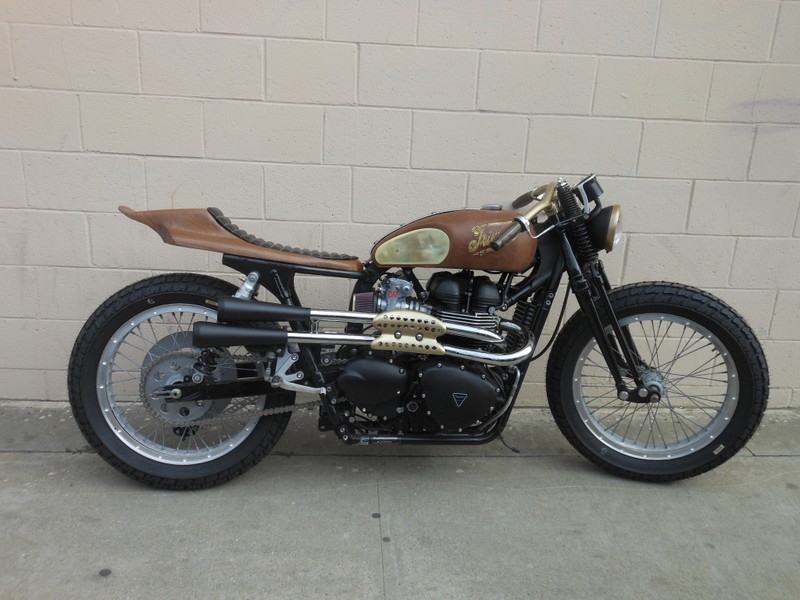 Mooneyes Triumph Bobber furthermore Triumph Hardtail Kit furthermore Burly Brands Scrambler Sportster The Jackrabbit in addition Kawasaki Z1000 as well Custom chopper hardtail frame. on triumph chopper frame