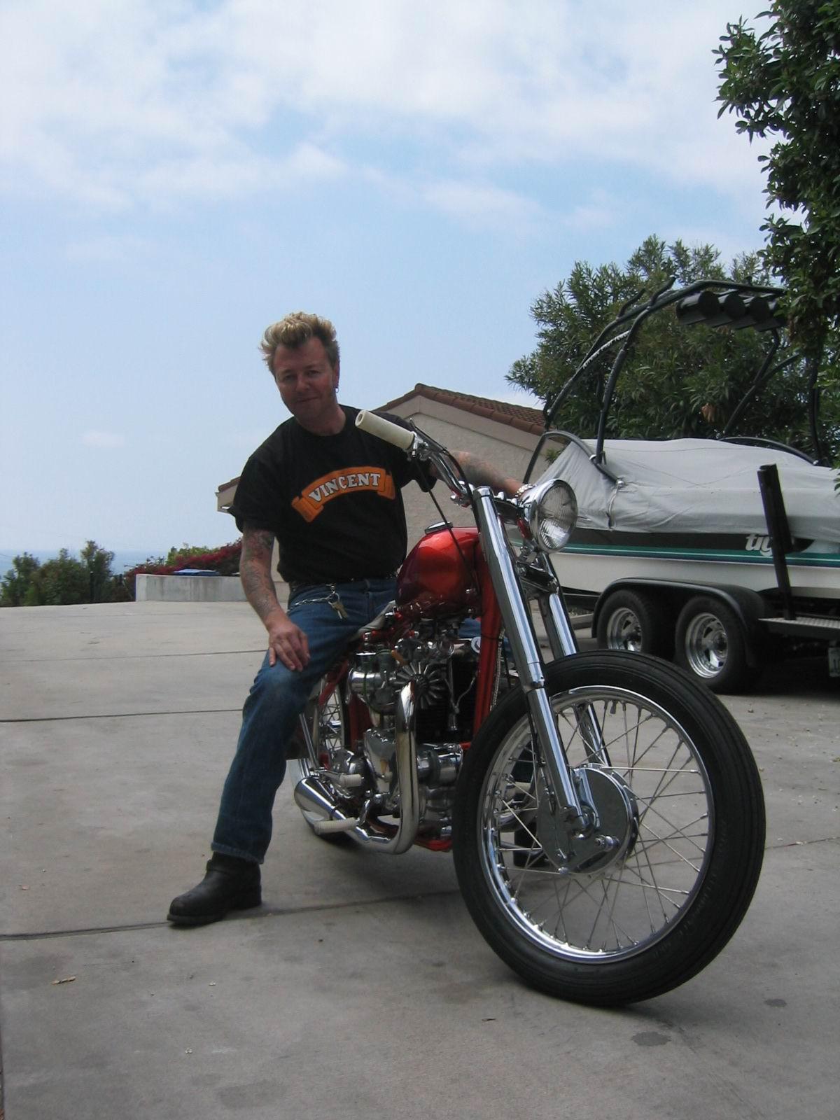 Brian Setzer S Custom Bobber Bike