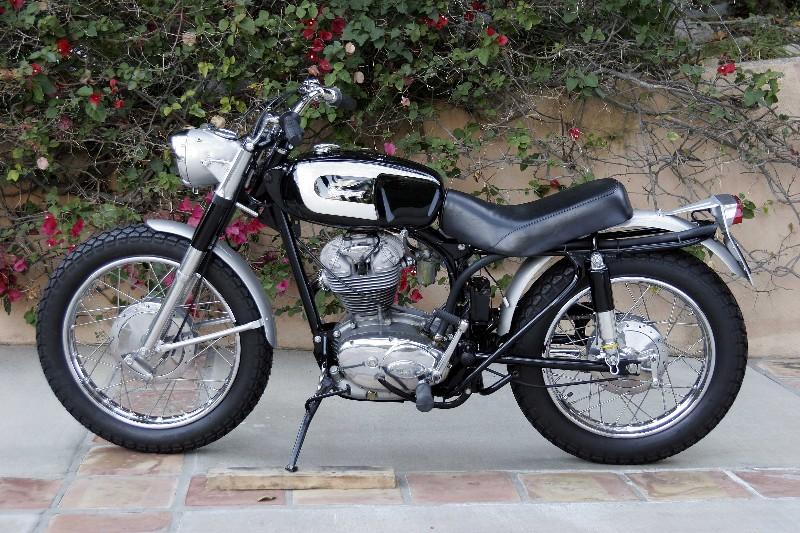Garage Company 1967 Ducati 250 Scrambler