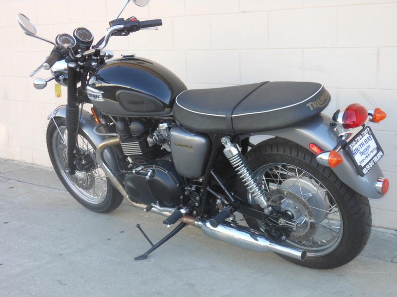 New Triumph Bonneville >> Garage Company Bikes