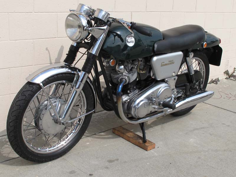 Garage Company Bikes - 1968 Norton Commando Fastback