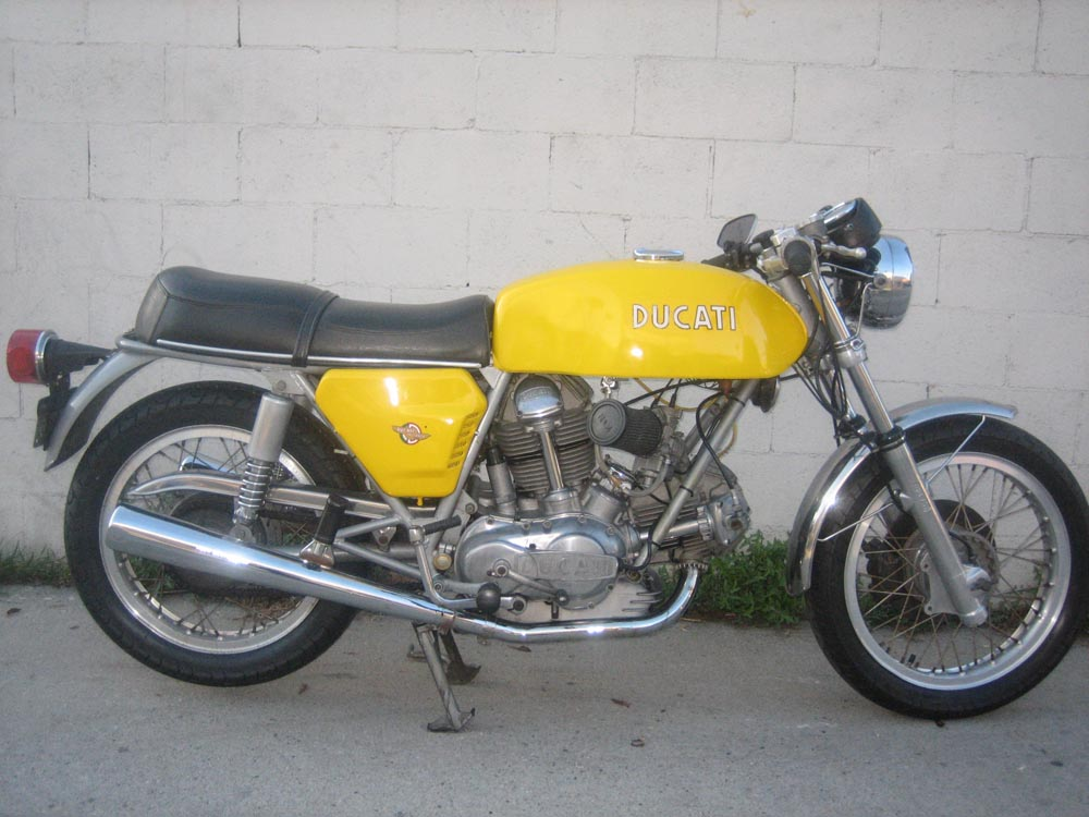 Ducati In Garage